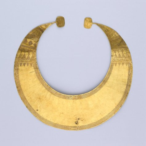 Blessington Lunula; The British Museum
