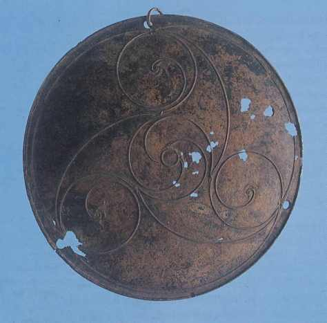 Bronze Disc in the La Tene style