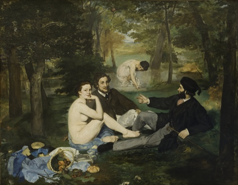 Edouard Manet; Déjeuner sur l'Herb ( Luncheon on the Grass)
