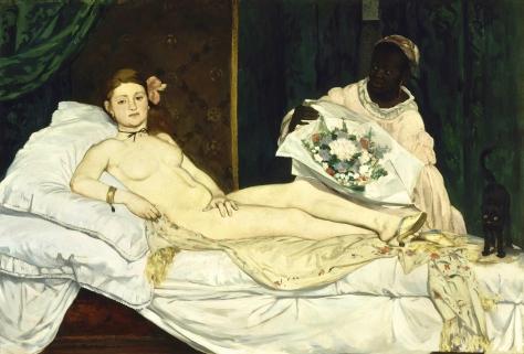 Edouard Manet; Olympia 1865