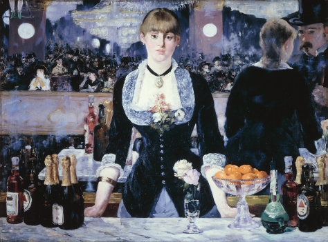 Edouard Manet, A Bar at the Folies-Bergère 1882