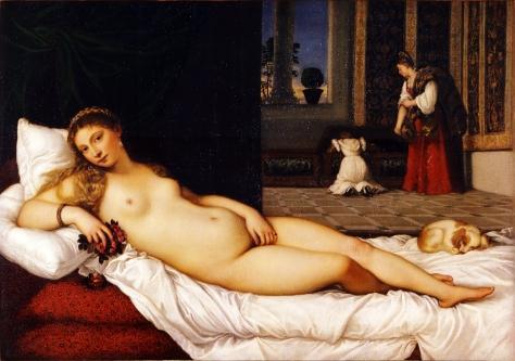 Titian; Venus of Urbino 1538