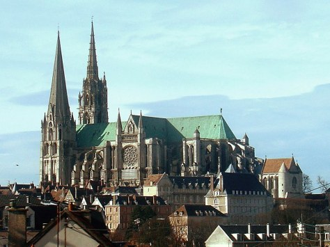 View of Chartres Cathedral
