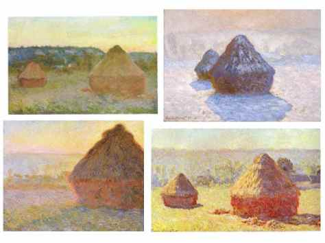 Claude Monet; Haystack Series 1890-91