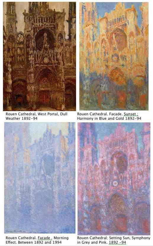 Claude Monet Art History Leaving Cert