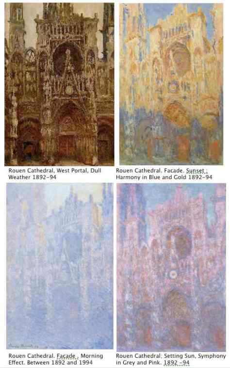 Claude Monet; Rouen Cathedral Series 1892-94