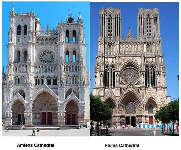 High Classic Gothic Churches