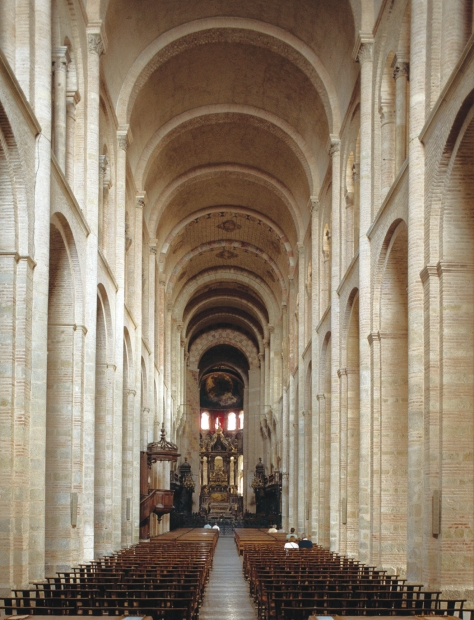 Interior of St Sernin's