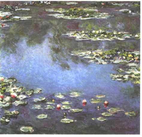 Monet; Waterlilies 1906