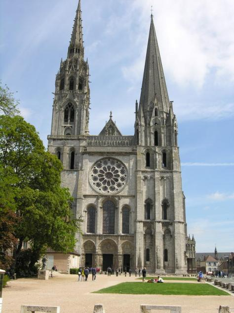 Chartes Cathedral - West Facade