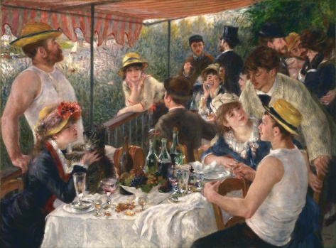 Luncheon of the Boating Party (Le déjeuner des canotiers) 1881