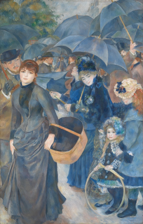 The Umbrellas (Les Parapluies) 1881- 1886